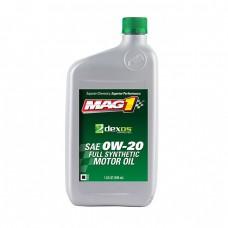 Моторное масло MAG1 Dexos1 SAE 0W-20 Full synthetic (0,946л)