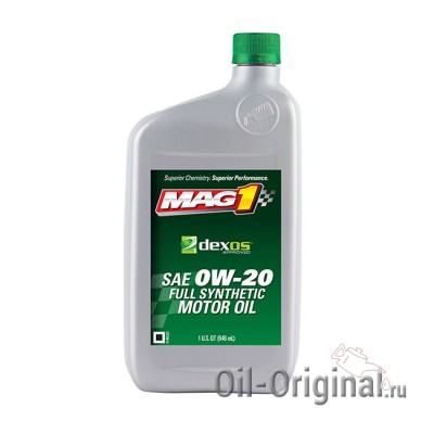 Моторное масло MAG1 Dexos1 SAE 0W-20 Full synthetic (0,946л)