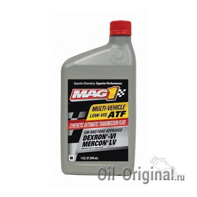 Трансмиссионное масло для АКПП MAG1 Multi-Vehicle low-vis ATF (0,946л)