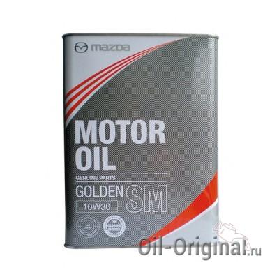 Моторное масло MAZDA Golden 10W-30 SM (4л)