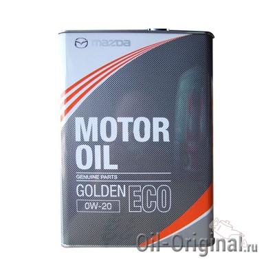 Моторное масло MAZDA Golden ECO 0W20 (4л)