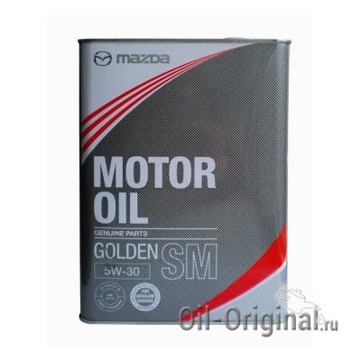 Моторное масло MAZDA Golden 5W-30 SM (4л)
