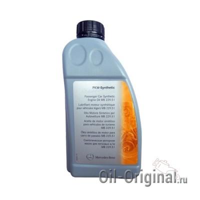 Моторное масло MB 5W-30 229.51 (1л)