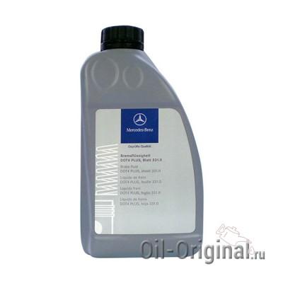 Тормозная жидкость MB Brake Fluid DOT-4 PLUS (1л)