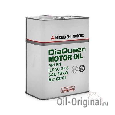 Моторное масло MITSUBISHI DiaQueen Motor Oil 5W-30 SN/GF-5 (4л)