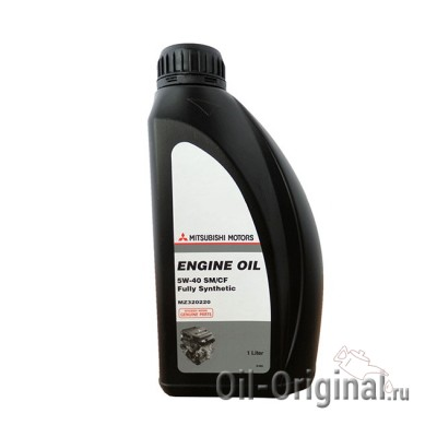 Моторное масло MITSUBISHI Engine Oil Fully Synthetic 5W-40 SM/CF (1л)