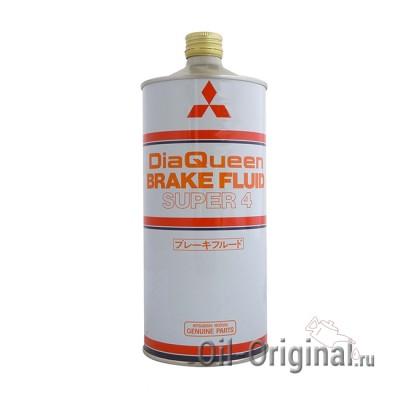 Тормозная жидкость MITSUBISHI Brake Fluid Super 4 (1л)