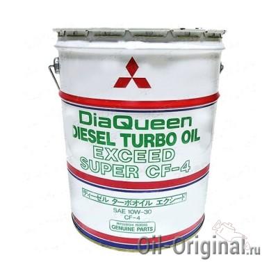 Моторное масло MITSUBISHI DiaQueen Diesel 10W30 CF-4 (20л)