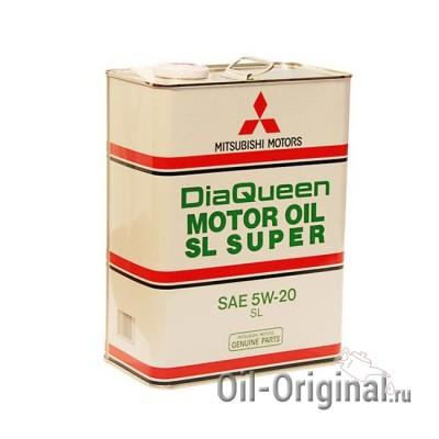 Моторное масло MITSUBISHI DiaQueen 5W20 SL (4л)