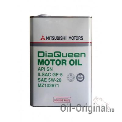 Моторное масло MITSUBISHI DiaQueen 5W-20 SN/GF-5 (4л)