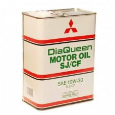 Моторное масло MITSUBISHI DiaQueen 10W30 SJ/CF (4л)
