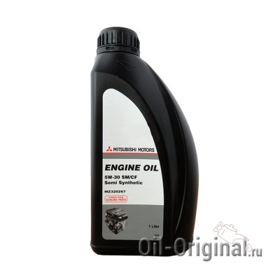 Моторное масло MITSUBISHI Engine Oil Semi-Synthetic 5W-30 SM/CF (1л)