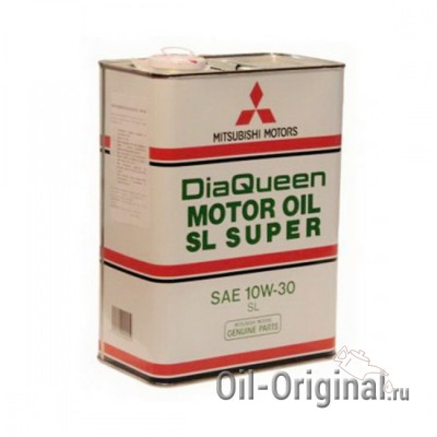 Моторное масло MITSUBISHI DiaQueen 10W30 SL (4л)