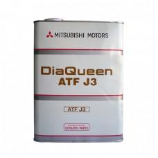 Жидкость для CVT MITSUBISHI DiaQueen ATF Fluid J3 (4л)