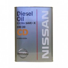 Моторное масло NISSAN Diesel Oil Extra Save X 5W-30 CD (4л)