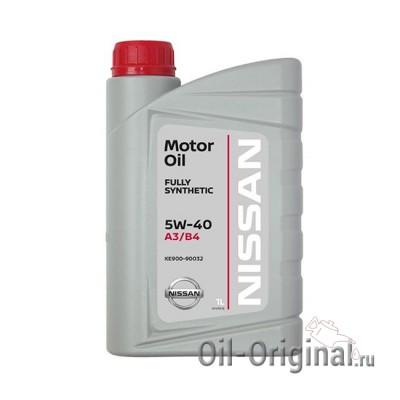 Моторное масло NISSAN Motor Oil 5W-40 SL/CF (1л)