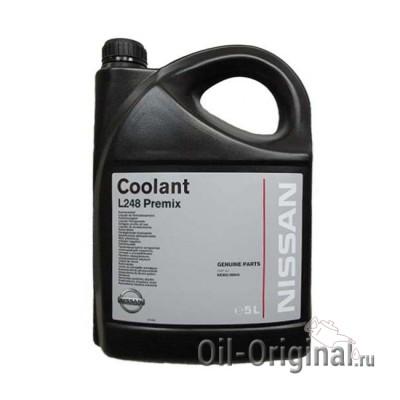 Антифриз готовый зеленый NISSAN Coolant L248 Premix (5л)