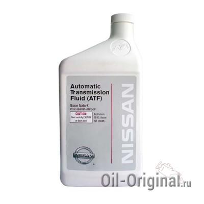 Жидкость для АКПП NISSAN ATF Matic Fluid K (0,946л)
