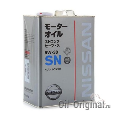 Моторное масло NISSAN Strong Save X 5W-30 SN (4л)