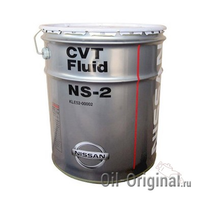 Жидкость для CVT NISSAN Fluid NS-2 (20л)