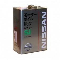 Моторное масло NISSAN Extra Save X 10W-30 SJ (4л)