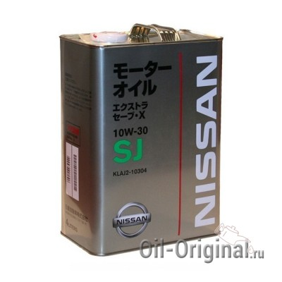 Моторное масло NISSAN Extra Save X 10W-30 SJ (4л)