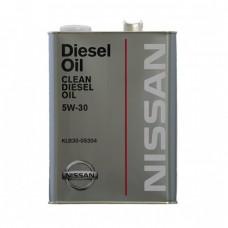 Моторное масло NISSAN Clean Diesel Oil 5W-30 DL-1 (4л)