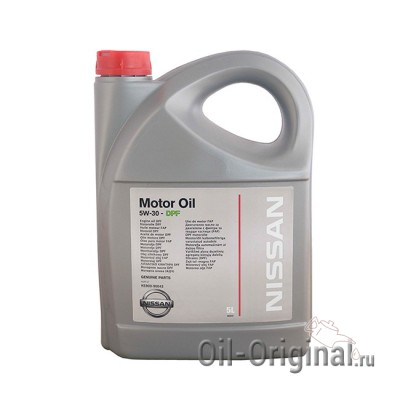 Моторное масло NISSAN Motor Oil DPF 5W-30 SM/CF (5л)