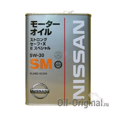 Моторное масло NISSAN Strong Save X E Special 5W-30 SM (4л)