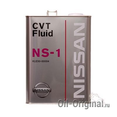 Жидкость для CVT NISSAN Fluid NS-1 (4л)