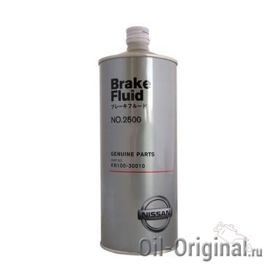 Тормозная жидкость NISSAN Brake Fluid 2500 (1л)