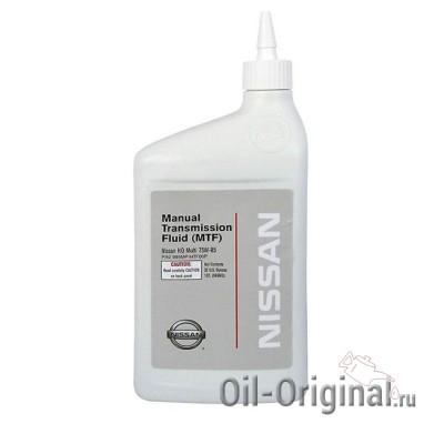 Трансмиссионное масло NISSAN Tranself NFJ 75W-80 (1л)