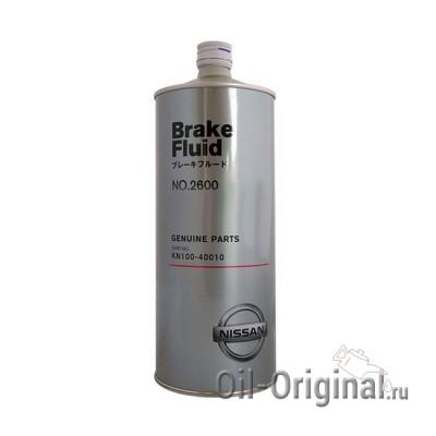 Тормозная жидкость NISSAN Brake Fluid 2600 (1л)