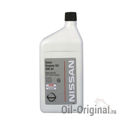 Моторное масло NISSAN Ester Engine Oil 5W-30 (0,946л)