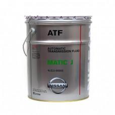 Жидкость для АКПП NISSAN ATF Matic Fluid J (20л)
