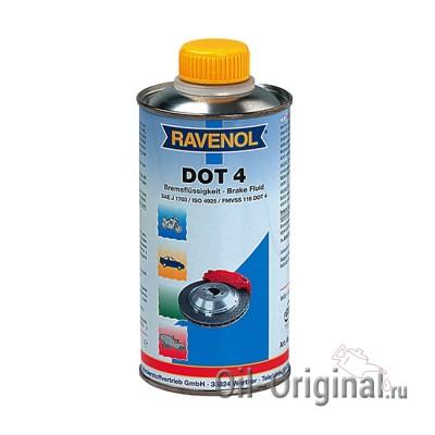 Тормозная жидкость RAVENOL DOT-4 (0,5л)