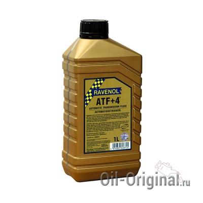 Трансмиссионное масло RAVENOL ATF+4 Fluid (1л)