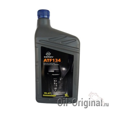 Жидкость для АКПП SSANGYONG ATF 134 OIL-A/T (1л)