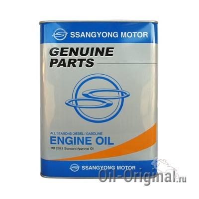 Моторное масло SSANGYONG Diesel/Gasoline 10W40 (4л)