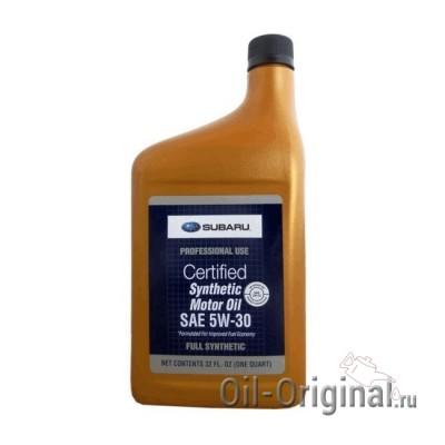 Моторное масло SUBARU Synthetic 5W-30 (0,946л)