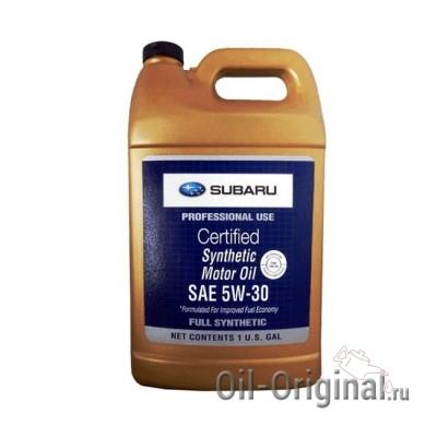 Моторное масло SUBARU Synthetic 5W-30 (3,780л)