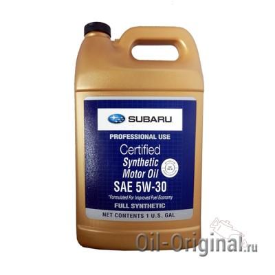 Моторное масло SUBARU Motor Oil Synthetic 5W-30 (3,78л)