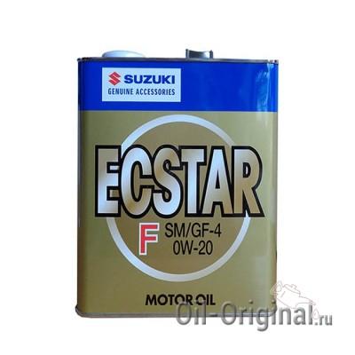 Моторное масло SUZUKI Ecstar 0W-20 SM/GF-4 (3л)