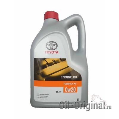 Моторное масло TOYOTA Engine Oil Formula XS 0W-20 SM/SL (5л)