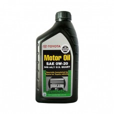 Моторное масло TOYOTA Motor Oil Synthetic 0W-20 SN (0,946л)
