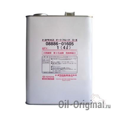 Жидкость для АКПП TOYOTA ATF D-3 (4л)