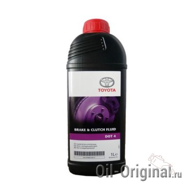 Тормозная жидкость TOYOTA DOT-4 Brake Fluid (1л)