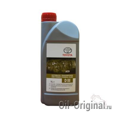 Жидкость для АКПП TOYOTA ATF D-3 (1л)