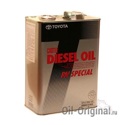 Моторное масло TOYOTA DIESEL RV SPECIAL 10W30 CF-4 (4л)