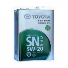 Моторное масло TOYOTA Motor Oil 5W-20 SN (4л)